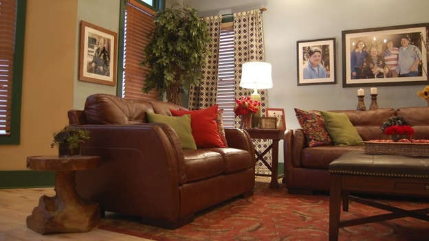 EXTREME MAKEOVER HOME EDITION - &quot;Cooper Family,&quot; - Living Room, on &quot;Extreme Makeover Home Edition,&quot; Sunday, May 3rd on the ABC Television Network.