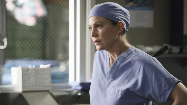 "GREY'S ANATOMY - ABC's ""Grey's Anatomy"" concludes the season with a two-hour shocker, THURSDAY, MAY 20. In the first hour, entitled ""Sanctuary"" (9:00-10:00 p.m., ET), Seattle Grace Hospital is hit with a crisis like no other in its history. Then, in the second hour, ""Death and All His Friends"" (10:00-11:00 p.m., ET), Cristina and Meredith's surgical skills are put to the ultimate test. (ABC/DANNY FELD)ELLEN POMPEO"