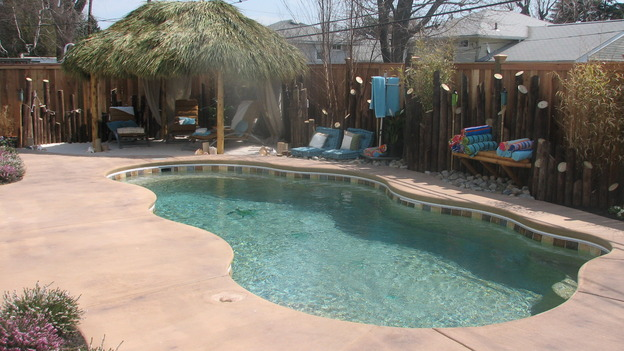 EXTREME MAKEOVER HOME EDITION - &quot;Py Family,&quot; - Pool, on &quot;Extreme Makeover Home Edition,&quot; Sunday, April 30th on the ABC Television Network.
