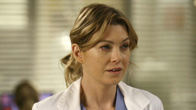 "GREY'S ANATOMY - ""Piece of My Heart"" - Addison returns to Seattle Grace to perform an operation and is taken aback by all of the changes in her old co-workers' lives. Meanwhile Meredith and Derek's clinical trial has its first patient, and Rebecca/Ava returns with shocking news for Alex, on ""Grey's Anatomy,"" THURSDAY, MAY 1 (9:00-10:01 p.m., ET) on the ABC Television Network. (ABC/SCOTT GARFIELD)ELLEN POMPEO"