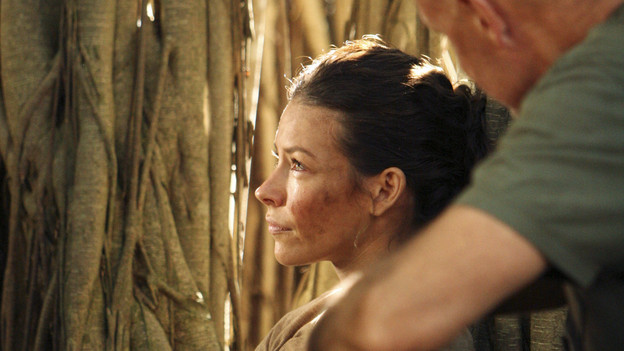 "LOST - ""Recon"" - Locke tasks Sawyer with a mission, on ""Lost,"" TUESDAY, MARCH 23 (9:00-10:00 p.m., ET) on the ABC Television Network.  (ABC/MARIO PEREZ)EVANGELINE LILLY, TERRY O'QUINN"