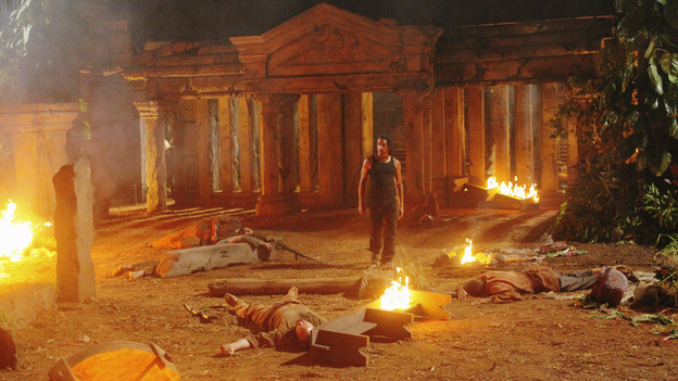 "LOST - ""Sundown"" - Sayid is faced with a difficult decision, and Claire sends a warning to the temple inhabitants, on ""Lost,"" TUESDAY, MARCH 2 (9:00-10:00 p.m., ET) on the ABC Television Network. (ABC/MARIO PEREZ)NAVEEN ANDREWS"