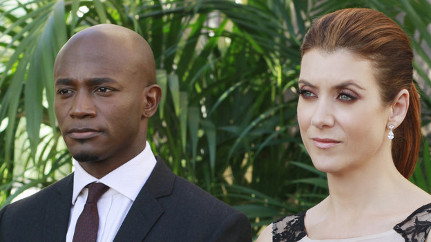 "PRIVATE PRACTICE - ""Heaven Can Wait"" - Addison plans Bizzy and Susan's wedding while trying to keep her distance from the overly flirtatious Dr. Rodriquez. Sam is concerned about the care his longtime patient is receiving, and Sheldon refers Charlotte to his mentor and friend for psychiatric help, on ""Private Practice,"" THURSDAY, JANUARY 13 (10:01-11:00 p.m., ET) on the ABC Television Network. (ABC/RON TOM)TAYE DIGGS, KATE WALSH"