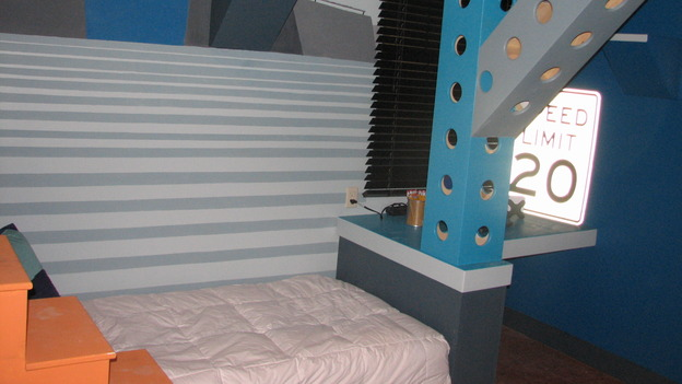 "EXTREME MAKEOVER HOME EDITION - ""Martinez Family,"" - Boy's Bedroom Details, on ""Extreme Makeover Home Edition,"" Sunday, April 27th on the ABC Television Network."