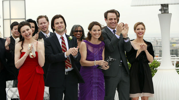 "PRIVATE PRACTICE - ""In Which We Say Goodbye"" - ABC's hit drama ""Private Practice"" will end its run with a special farewell to the beloved doctors of Seaside Health and Wellness. Naomi returns to stand by Addison's side on her wedding day, Cooper struggles with the hardships of being a stay-at-home father, and Violet begins a new project close to her heart, on the Series Finale of ""Private Practice,"" TUESDAY, JANUARY 22 (10:00-11:00 p.m., ET) on the ABC Television Network. (ABC/RON TOM)CATERINA SCORSONE, MATT LONG, AMY BRENNEMAN, PAUL ADELSTEIN, KADEE STRICKLAND"