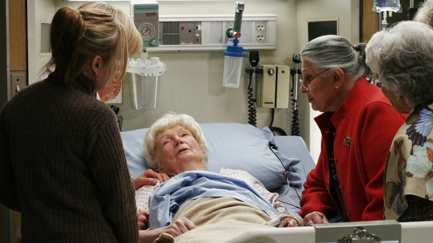 GREY'S ANATOMY - &quot;Break On Through&quot; (ABC/RON TOM)TEDDI SIDDALL, PAMELA ROYLANCE, DONA HARDY, RAE ALLEN, BETTY GARRETT