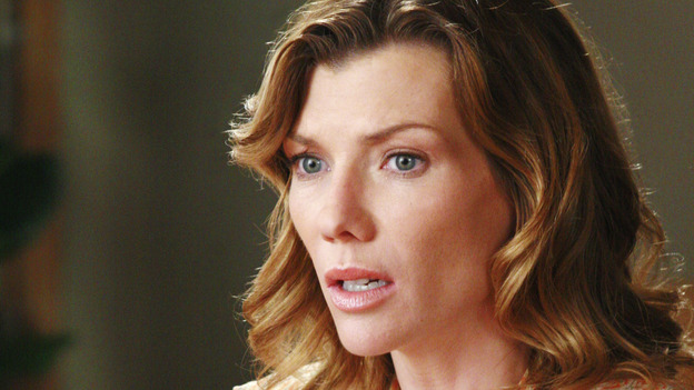 GREY'S ANATOMY - &quot;The Other Side of This Life&quot; - Addison takes temporary leave from Seattle Grace and makes a road trip to Los Angeles in order to visit some old friends from medical school. As Meredith continues to bond with her stepmother, Susan, Cristina reluctantly plans her wedding with the assistance of her mother, Helen, and Burke's mother, Mama Jane. Meanwhile, Derek must perform  emergency surgery on Ava/Jane Doe, as Alex continues his unfailing bedside manner with her, on &quot;Grey's Anatomy,&quot; THURSDAY, MAY 3 (9:00-11:00 p.m., ET) on the ABC Television Network. (ABC/RON TOM)STEPHANIE NIZNIK