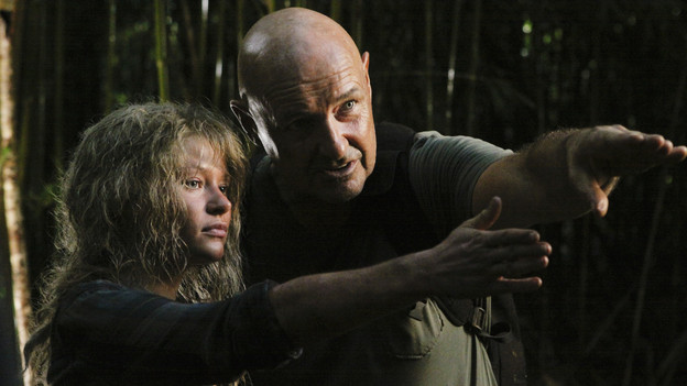 "LOST - ""Sundown"" - Sayid is faced with a difficult decision, and Claire sends a warning to the temple inhabitants, on ""Lost,"" TUESDAY, MARCH 2 (9:00-10:00 p.m., ET) on the ABC Television Network. (ABC/MARIO PEREZ)EMILIE DE RAVIN, TERRY O'QUINN"