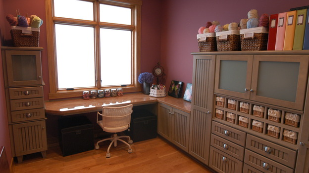 EXTREME MAKEOVER HOME EDITION - &quot;DeVries Family,&quot; - Home Office, on &quot;Extreme Makeover Home Edition,&quot; Sunday, December 7th on the ABC Television Network.