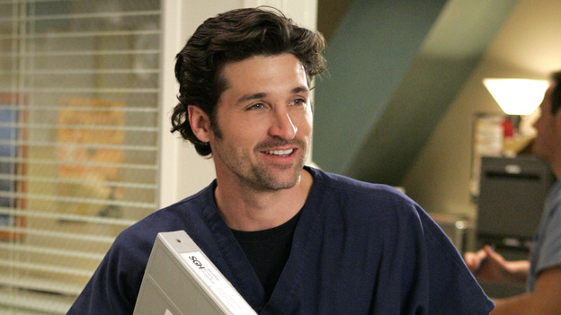 102468_6732 -- GREY'S ANATOMY - &quot;RAINDROPS KEEP FALLING ON MY HEAD&quot; (ABC/CRAIG SJODIN)PATRICK DEMPSEY