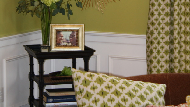 "EXTREME MAKEOVER HOME EDITION - ""Augustin Family,"" - Living Room detail, on ""Extreme Makeover Home Edition,"" Sunday, March 1st on the ABC Television Network."