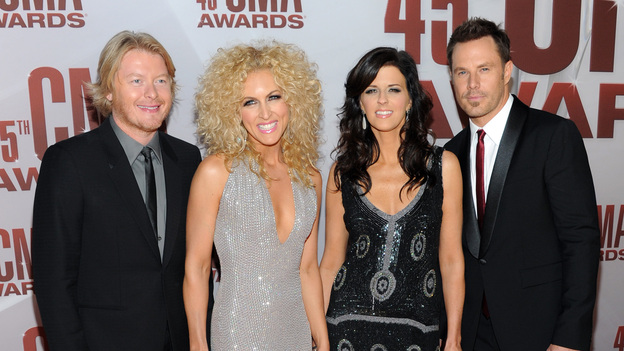 "THE 45th ANNUAL CMA AWARDS - RED CARPET ARRIVALS - ""The 45th Annual CMA Awards"" will broadcast live on ABC from the Bridgestone Arena in Nashville on WEDNESDAY, NOVEMBER 9 (8:00-11:00 p.m., ET). (ABC/JASON KEMPIN)LITTLE BIG TOWN"