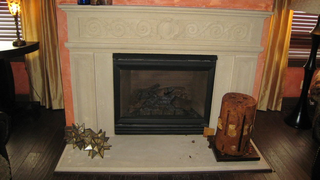 "EXTREME MAKEOVER HOME EDITION - ""Jacobo Family,"" - Fireplace, on ""Extreme Makeover Home Edition,"" Sunday, May 13th on the ABC Television Network."