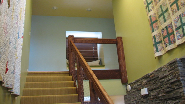 "EXTREME MAKEOVER HOME EDITION - ""Rogers Family,"" - Stairwelll, on ""Extreme Makeover Home Edition,"" Sunday, September 24th on the ABC Television Network."
