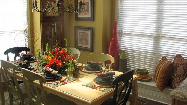 EXTREME MAKEOVER HOME EDITION - &quot;Py Family,&quot; - Dining Room, on &quot;Extreme Makeover Home Edition,&quot; Sunday, April 30th on the ABC Television Network.