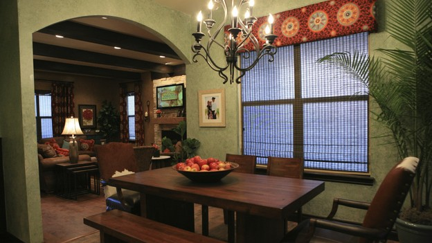 "EXTREME MAKEOVER HOME EDITION - ""Skaggs Family,"" - Dining Room, on ""Extreme Makeover Home Edition,"" Sunday, March 14th on the ABC Television Network."