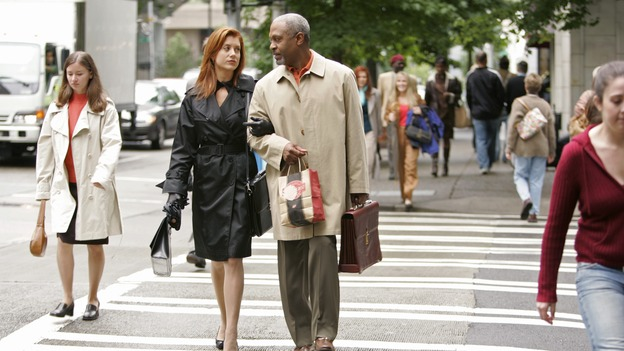 "GREY'S ANATOMY - ""Something to Talk About"" (ABC/CRAIG SJODIN)KATE WALSH, JAMES PICKENS, JR."
