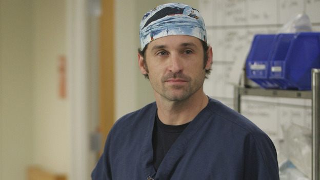 "101835_7996 -- GREY'S ANATOMY -- ""If Tomorrow Never Comes"" (ABC/SCOTT GARFIELD)PATRICK DEMPSEY"