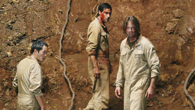 LOST - &quot;LA X&quot; - &quot;Lost&quot; returns for its final season of action-packed mystery and adventure -- that will continue to bring out the very best and the very worst in the people who are lost -- on the season premiere of &quot;Lost,&quot; TUESDAY, FEBRUARY 2 (9:00-11:00 p.m., ET) on the ABC Television Network. On the season premiere episode, &quot;LA X&quot; Parts 1 &amp; 2, the aftermath from Juliet's detonation of the hydrogen bomb is revealed. (ABC/MARIO PEREZ)KEN LEUNG, MATTHEW FOX, JOSH HOLLOWAY