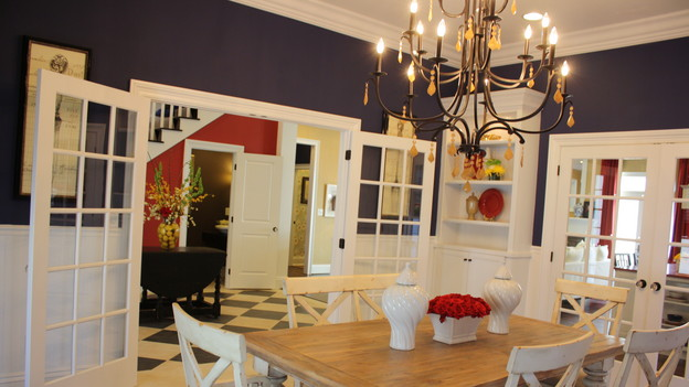 "EXTREME MAKEOVER HOME EDITION - ""Scott Family,"" - Dining Room, on ""Extreme Makeover Home Edition,"" Sunday, December 6th on the ABC Television Network."