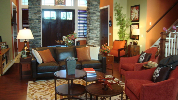 "EXTREME MAKEOVER HOME EDITION - ""Nickless Family,"" - Living Room, on ""Extreme Makeover Home Edition,"" Sunday, November 30th on the ABC Television Network."
