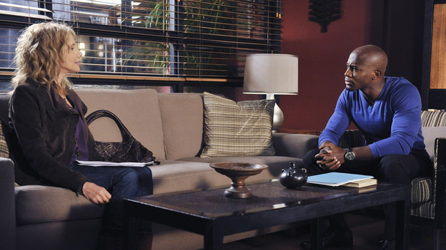 PRIVATE PRACTICE - &quot;Shotgun&quot; - Addison and Cooper counsel a couple who must make an unthinkable choice, to decide which one of their ailing daughters to save with their newborn's core blood. Sam is dealt another blow when he finds out Dink's intent to marry Maya, and the rest of the gang runs an intervention on a still distant Naomi, on &quot;Private Practice,&quot; THURSDAY, FEBRUARY 4 (10:01-11:00 p.m., ET) on the ABC Television Network. (ABC/ERIC MCCANDLESS)ROSANNA ARQUETTE, TAYE DIGGS