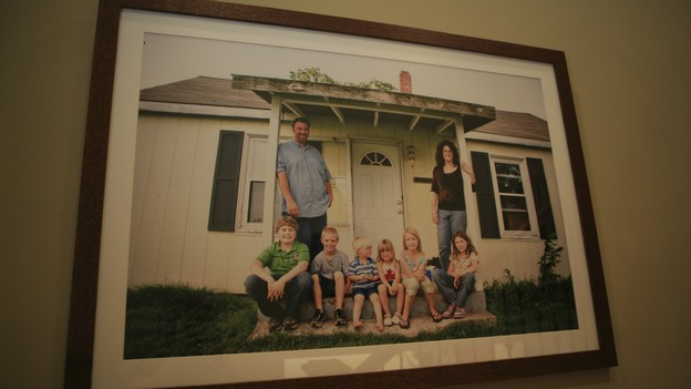 "EXTREME MAKEOVER HOME EDITION - ""Hampton Family,"" - Artwork, on ""Extreme Makeover Home Edition,"" Sunday, October 4th on the ABC Television Network."