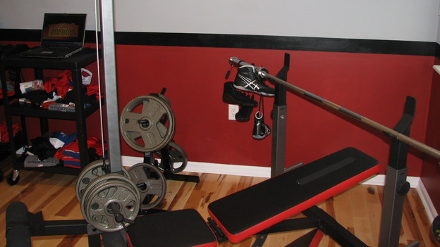EXTREME MAKEOVER HOME EDITION - &quot;Rogers Family,&quot; - Workout Room, on &quot;Extreme Makeover Home Edition,&quot; Sunday, September 24th on the ABC Television Network.