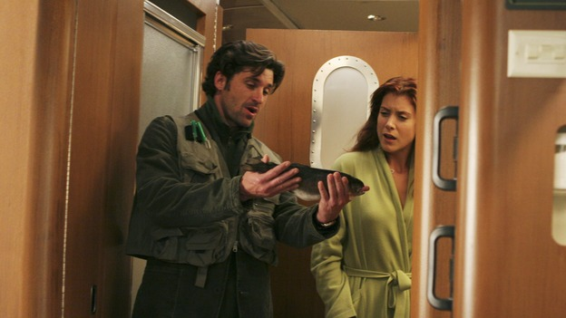 "GREY'S ANATOMY - ""Break On Through"" (ABC/RICHARD CARTWRIGHT)PATRICK DEMPSEY, KATE WALSH"