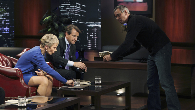 SHARK TANK -&quot;Episode 205&quot; - ABC will air a special sneak preview episode of Season Two of its hit reality series, &quot;Shark Tank,&quot; SUNDAY, MARCH 20 (9:00-10:00 p.m., ET). In the preview, &quot;Episode 205,&quot; the Sharks are stunned to discover the shark-like exploits of a sweet-faced sister duo with a children's dance company; a chef from Tennessee hopes to whet the Sharks' appetites with his delectable seafood products; and a winemaker from Oregon believes he has a game-changing new product that will revolutionize the wine industry. Also, an entrepreneur with a line of men's accessories has his hopes set on partnering with Daymond John - but his big mouth infuriates this Shark and could jeopardize the entire deal. (ABC/CRAIG SJODIN)BARBARA CORCORAN, ROBERT HERJAVEC, JAMES MARTIN (COPA DI VINO)