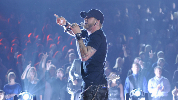 "THE 46TH ANNUAL CMA AWARDS - THEATRE - ""The 46th Annual CMA Awards"" airs live THURSDAY, NOVEMBER 1 (8:00-11:00 p.m., ET) on ABC live from the Bridgestone Arena in Nashville, Tennessee. (ABC/KATHERINE BOMBOY-THORNTON)BRANTLEY GILBERT"