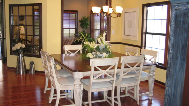 "EXTREME MAKEOVER HOME EDITION - ""Riggins Family,"" -  Dining Room, on ""Extreme Makeover Home Edition,"" Sunday, January 21th on the ABC Television Network."
