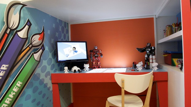 "EXTREME MAKEOVER HOME EDITION - Boy's Bedroom Photo, ""Friday Family,"" on ""Extreme Makeover Home Edition,"" Monday, December 17th (8:00-10:00 p.m. ET/PT) on the ABC Television Network."