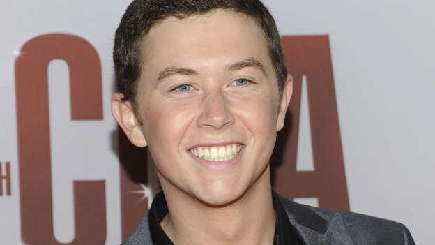 "THE 45th ANNUAL CMA AWARDS - RED CARPET ARRIVALS - ""The 45th Annual CMA Awards"" will broadcast live on ABC from the Bridgestone Arena in Nashville on WEDNESDAY, NOVEMBER 9 (8:00-11:00 p.m., ET). (ABC/JASON KEMPIN)SCOTTY MCCREERY"
