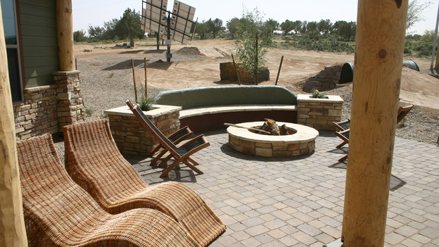 "EXTREME MAKEOVER HOME EDITION - ""Yazzie Family"" - Patio, on ""Extreme Makeover Home Edition,"" Sunday, October 28th on the ABC Television Network."
