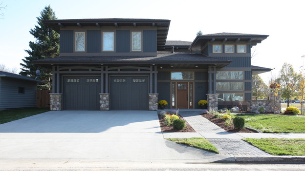 "EXTREME MAKEOVER HOME EDITION - ""Grommesh Family,"" - Exterior Picture, on ""Extreme Makeover Home Edition,"" Sunday, January 2nd (8:00-9:00 p.m. ET/PT) on the ABC Television Network."