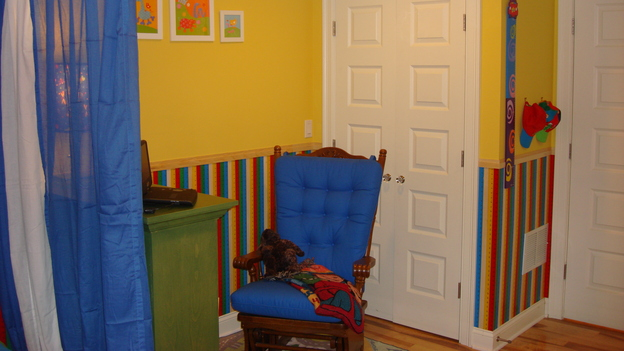"EXTREME MAKEOVER HOME EDITION - ""Silva Family,"" - Boy's Bedroom, on ""Extreme Makeover Home Edition,"" Sunday, May 4th on the ABC Television Network."