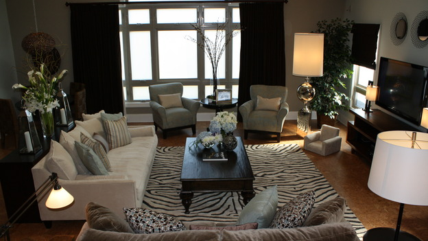 EXTREME MAKEOVER HOME EDITION - &quot;Grys Family,&quot; - Living Room, on &quot;Extreme Makeover Home Edition,&quot;&nbsp; Sunday, January 11th on the ABC Television Network.