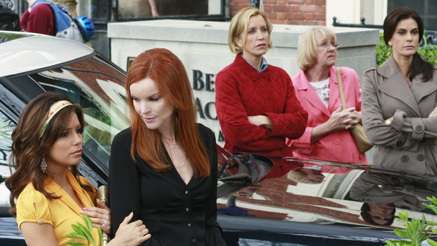 "DESPERATE HOUSEWIVES - ""Look Into Their Eyes and You See What They Know"" - The ladies of Wisteria Lane remember Edie."