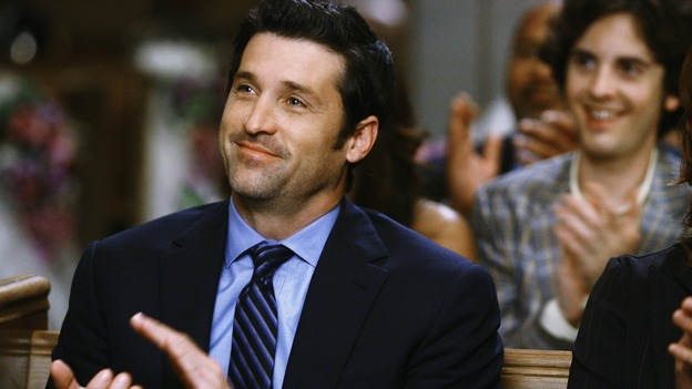 GREY'S ANATOMY - &quot;What a Difference a Day Makes&quot; - Derek applauds the wedding of Izzie Stevens and Alex Karev, on &quot;Grey's Anatomy,&quot; THURSDAY, MAY 7 (9:00-10:02 p.m., ET) on the ABC Television Network. PATRICK DEMPSEY