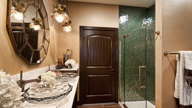 EXTREME MAKEOVER HOME EDITION - &quot;Brown Family,&quot; - Bathroom Picture,    on &quot;Extreme Makeover Home Edition,&quot; Sunday, January 30th (8:00-10:00    p.m. ET/PT) on the ABC Television Network.