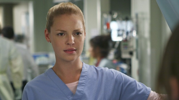 "GREY'S ANATOMY - ""INTO YOU LIKE A TRAIN"" (ABC/MICHAEL DESMOND)KATHERINE HEIGL"