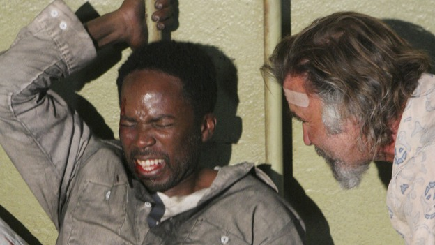 LOST - &quot;Cabin Fever&quot; (ABC/MARIO PEREZ)HAROLD PERRINEAU, JEFF FAHEY