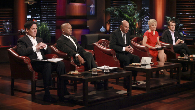 "SHARK TANK - ""Episode 310"" - The Sharks are back for a third season, continuing their search to invest in the best products and businesses that America has to offer. The critically acclaimed ""Shark Tank"" gives budding entrepreneurs the chance to make their dreams come true, and possibly make a business deal that will make them millionaires. Season Three continues to make TV history, with the Sharks offering over $6.2 million of their own money in investment deals to bankroll a creative array of innovative entrepreneurs. The Season Premiere, ""Episode 310,"" airs FRIDAY, JANUARY 20 (8:00-9:00 p.m., ET) on the ABC Television Network. (ABC/RICHARD CARTWRIGHT)MARK CUBAN, DAYMOND JOHN, KEVIN O'LEARY, BARBARA CORCORAN, ROBERT HERJAVEC"