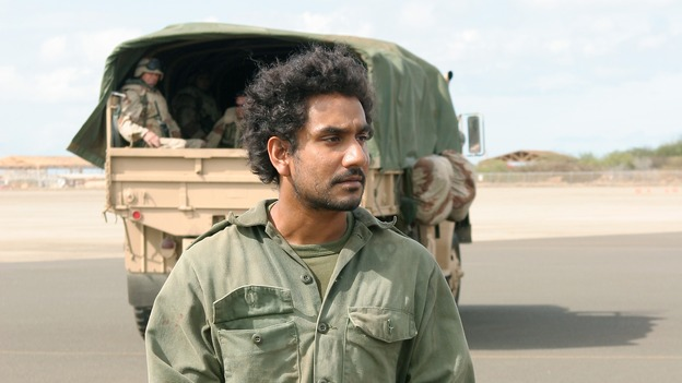 LOST - &quot;One of Them&quot; - When Rousseau leads Sayid to a mysterious captive in the jungle, he becomes determined to find out if he is one of the &quot;Others.&quot; Meanwhile, Sawyer discovers Hurley's potentially devastating breech of the survivors' trust and blackmails him into helping track an elusive island creature that won't leave Sawyer alone, on &quot;Lost,&quot; WEDNESDAY, FEBRUARY 15 (9:00-10:03 p.m., ET), on the ABC Television Network. (ABC/MARIO PEREZ)NAVEEN ANDREWS