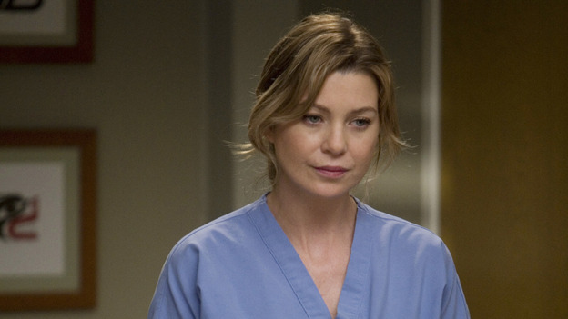 "GREY'S ANATOMY - ""Piece of My Heart"" - Addison returns to Seattle Grace to perform an operation and is taken aback by all of the changes in her old co-workers' lives. Meanwhile Meredith and Derek's clinical trial has its first patient, and Rebecca/Ava returns with shocking news for Alex, on ""Grey's Anatomy,"" THURSDAY, MAY 1 (9:00-10:01 p.m., ET) on the ABC Television Network.  (ABC/RANDY HOLMES)ELLEN POMPEO"