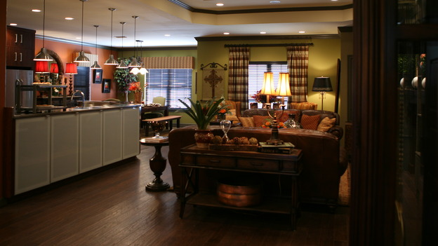 "EXTREME MAKEOVER HOME EDITION - ""Gaudet Family,"" - Living Room, on ""Extreme Makeover Home Edition,"" Sunday, March 23rd on the ABC Television Network."