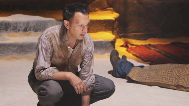 "LOST - ""The Substitute"" - Locke goes in search of help to further his cause, on ""Lost,"" TUESDAY, FEBRUARY 16 (9:00-10:00 p.m., ET) on the ABC Television Network. (ABC/MARIO PEREZ) MICHAEL EMERSON"