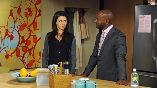 "PRIVATE PRACTICE - ""The Next Episode"" - A reality show centered around Sam sheds some light on issues in his colleagues' personal lives. Meanwhile, Sam's mother (Alfre Woodard) seeks his help after her boss (Richard Roundtree) falls ill; and the search continues for a girl who went missing from St. Ambrose, on ""Private Practice,"" TUESDAY, OCTOBER 30 (10:00-11:00 p.m., ET) on the ABC Television Network. (ABC/RICHARD FOREMAN)CATERINA SCORSONE, TAYE DIGGS"