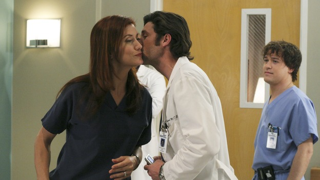 GREY'S ANATOMY - &quot;It's the End of the World (As We Know It)&quot;(ABC/KAREN NEAL)KATE WALSH, PATRICK DEMPSEY, T.R. KNIGHT